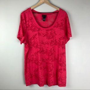 Torrid size 3 women's hot pink T-shirt
